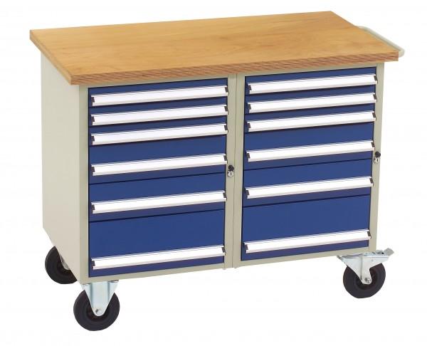 Dinzl Werkstattwagen mit 12 Schubladen
